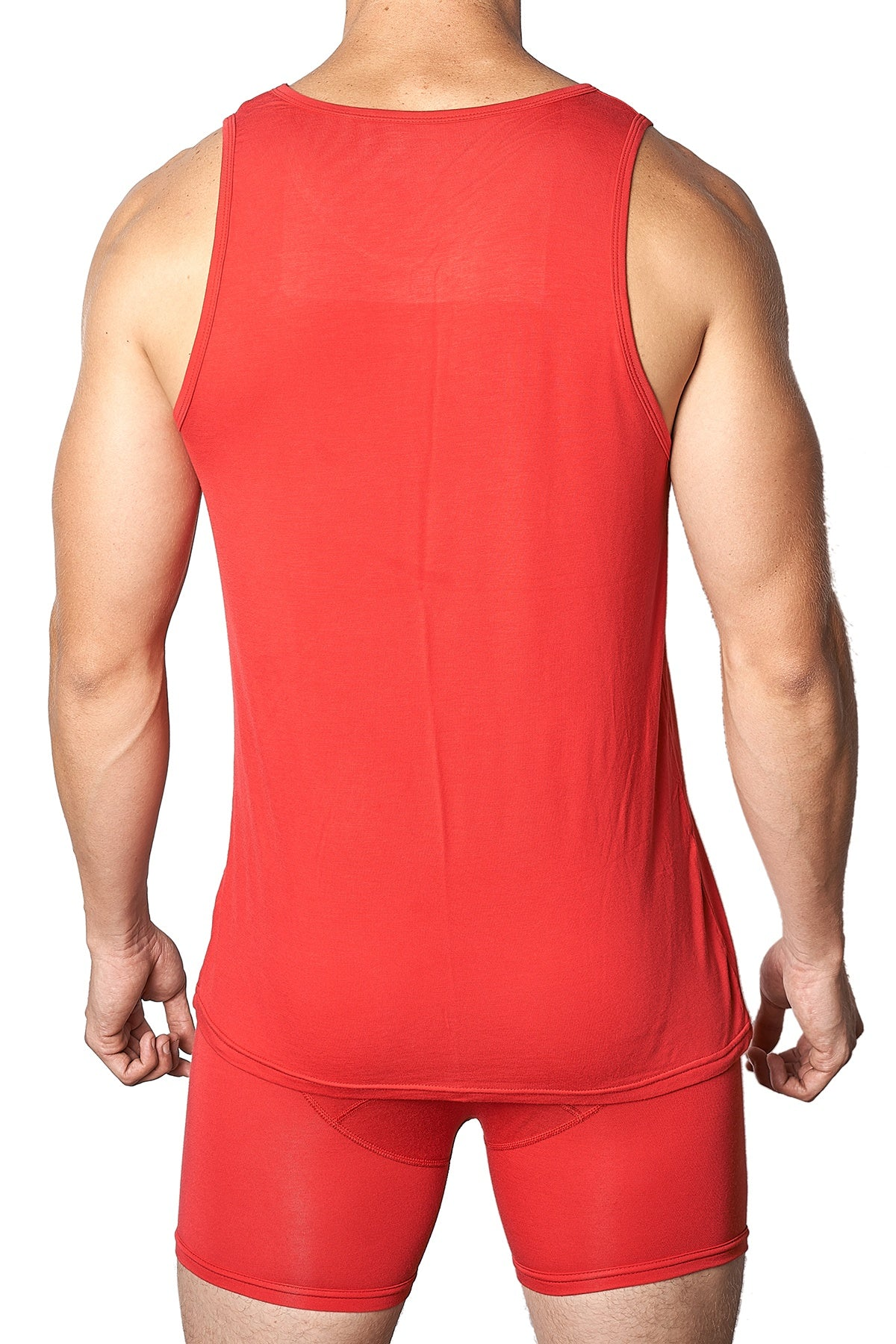 Yocisco's Red Essentials Tank Top