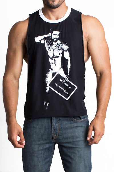 Cellblock 13 Black Israel Muscle Tank