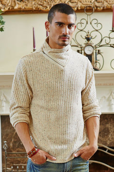 Andres Velasco Cream Brad Turtle Neck