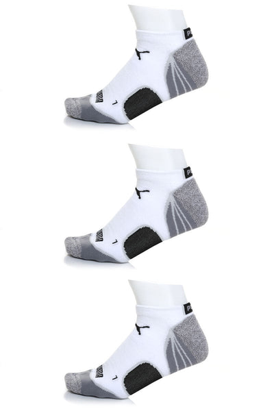 Puma 107 Allsport Qtr Crew Sock 3-Pack