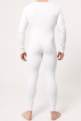 Contour Prive White Union Suit