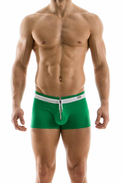 Modus Vivendi Green Zipper Boxer - CheapUndies.com