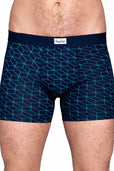 Happy Socks Navy Optic Boxer Brief