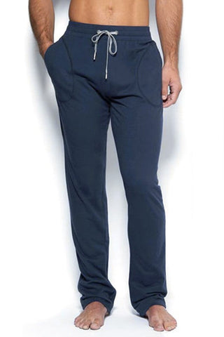 C-IN2 Navy Blue Cotton Sweat Pants