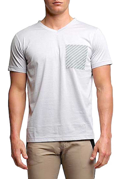 Something Strong Grey Something Wrong Pocket Tee - CheapUndies.com