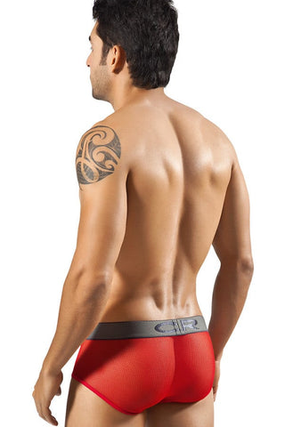 Clever Red Prague Brief