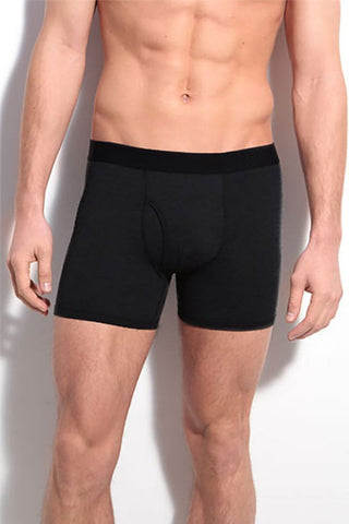 Bottoms Out Black Boxer Brief