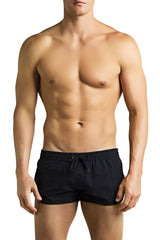 PoolBoy Black Running Shorts