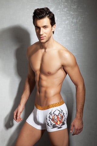 Doreanse White Tiger Boxer Brief