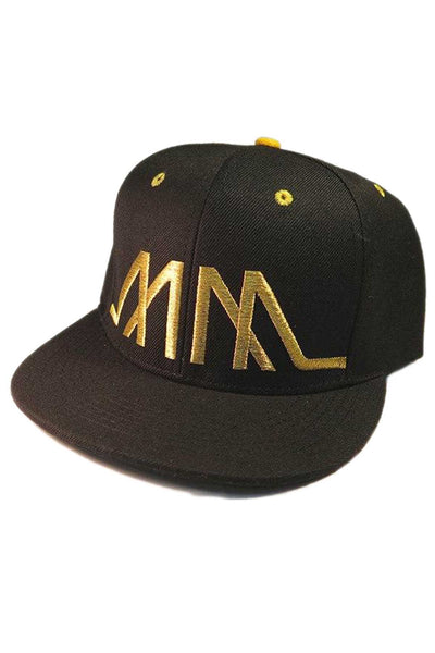Marco Marco Gold Embroidered MM Snapback - CheapUndies.com