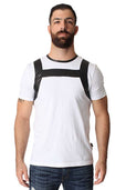 Cell Block 13 White Covert Harness Tee