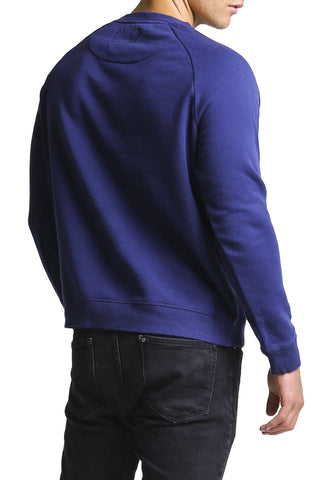 Mosmann Blue Vintage Brooklyn Sweater