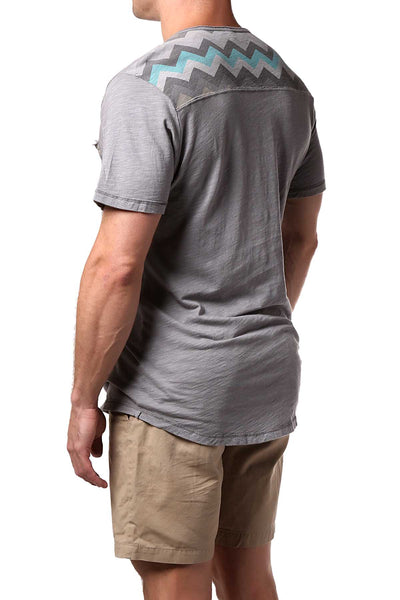 Cohesive & Co. Grey Devon ZigZag T-Shirt