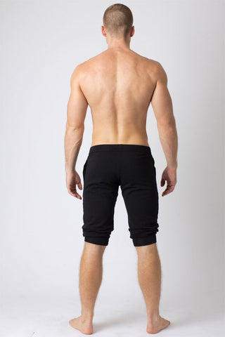 Timoteo Black Airport Lounge Short