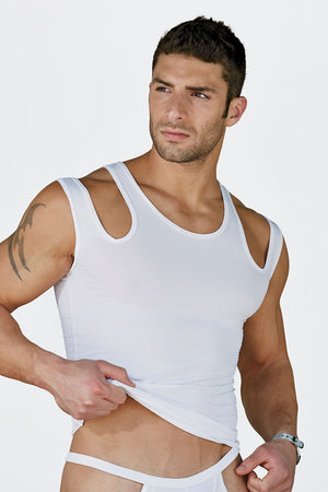 Extreme Collection White Fetish Tank
