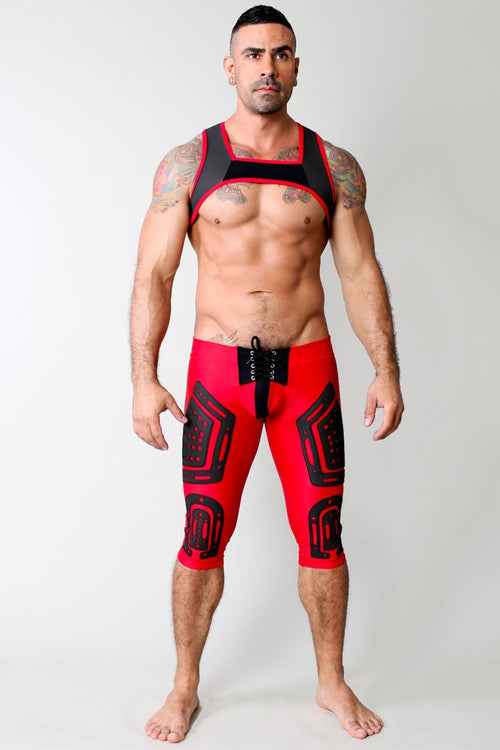 CellBlock 13 Red Lace Up Stryker Pant - CheapUndies.com