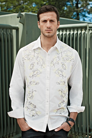 Andres Velasco Off-White Versailles Button-Up