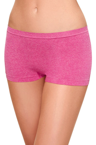 b.tempt'd Pink-Yarrow b.splendid Seamless Boyshort - CheapUndies.com