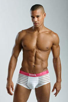 BodyQ White Streak Trunk