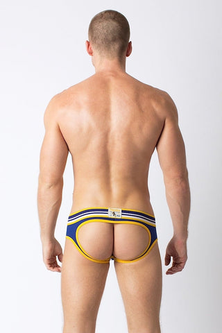 Timoteo Rugby Lace Up Jock Brief