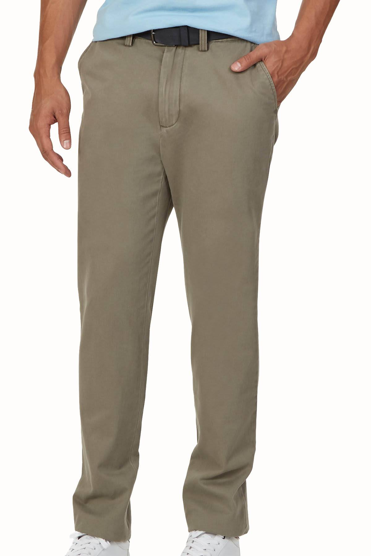 Nautica Baltic-Brown Classic-Fit Deck Pant