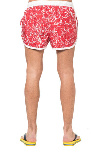 Frank Dandy Red Saint Paul Swim Trunk