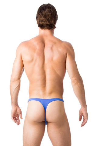 Gregg Homme Blue Charged Thong