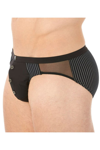 Gregg Homme Black Ritz Brief