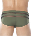 Gregg Homme Khaki Ardent Swim Brief