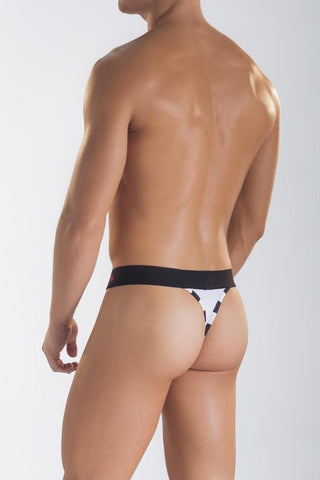 Mandies White Toboggan Thong