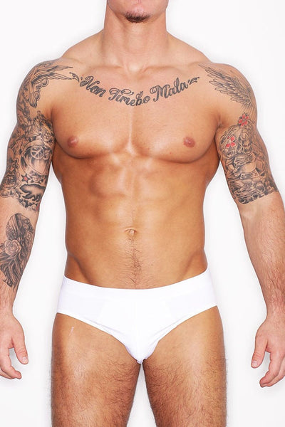 Hanro White Micro Touch Brief