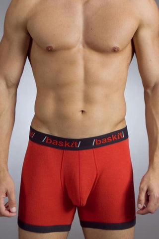 Baskit Red & Black Contrast Boxer