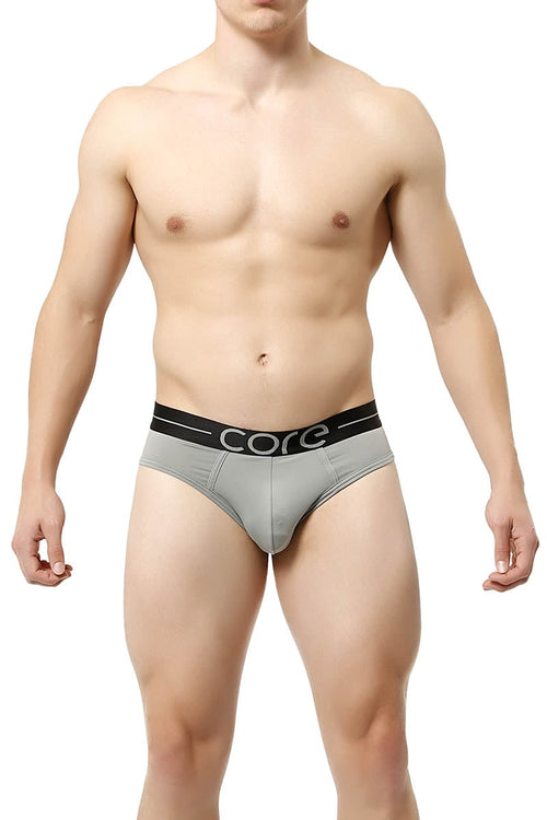 Core Grey Power Brief - CheapUndies.com