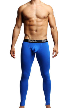 CheapUndies Blue Contour Pouch Long Underwear
