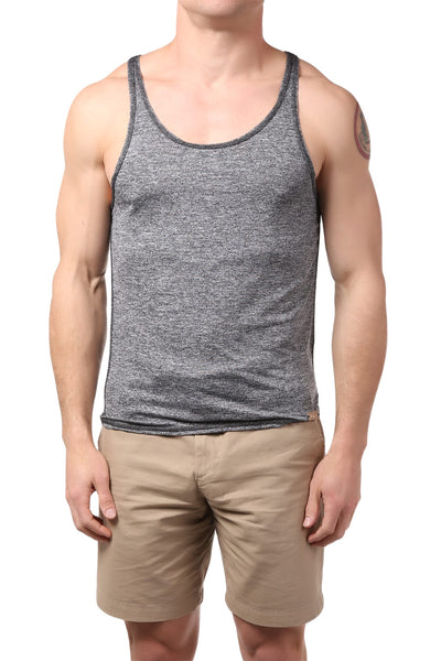 Gigo Grey Fitness Tank Top - CheapUndies.com