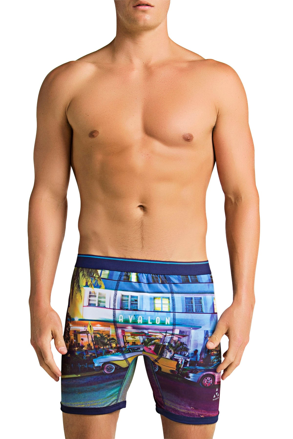 Balanced Tech Ocean Drive Performance Boxer Brief