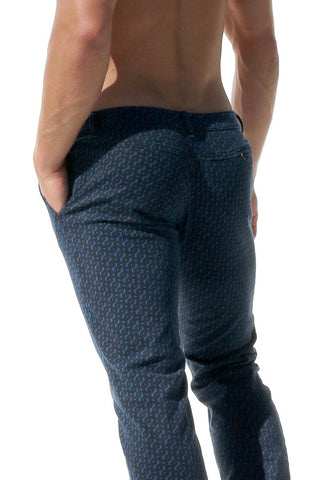 Rufskin Steel Blue Klaus Pattern Pants