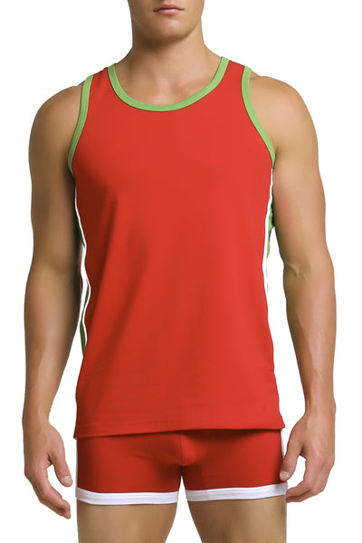 Papi Red Heritage Tank Top - CheapUndies.com