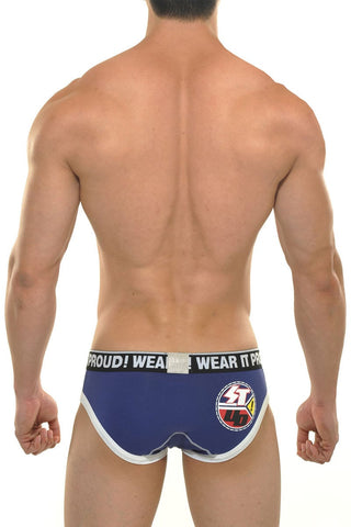 STUD Navy Jarod Sport Brief