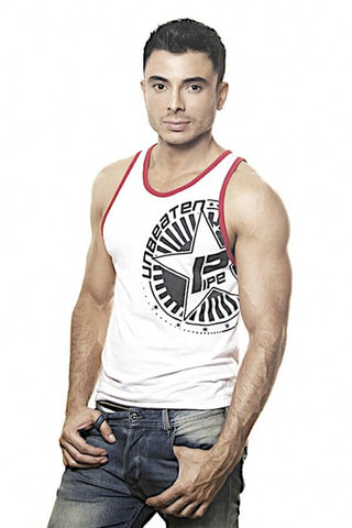 Pipe White Unbeaten Tank Top