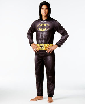 Batman Adult Pajamas With Hood