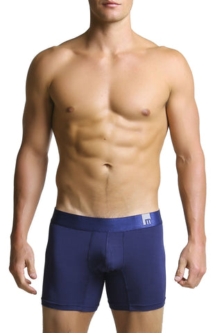 Mosmann Navy Blue Denim Boxer