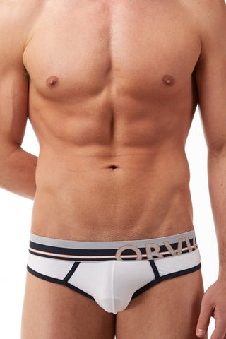 Obviously White Classic Hipster Brief