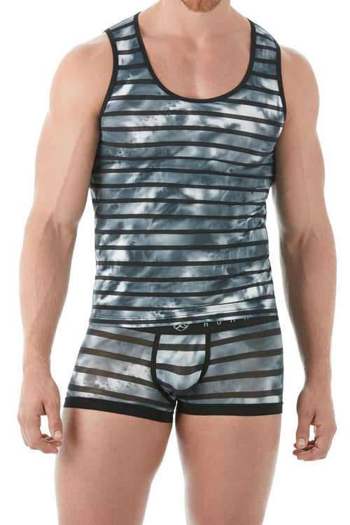 Gregg Homme Grey Wanted Tank Top - CheapUndies.com