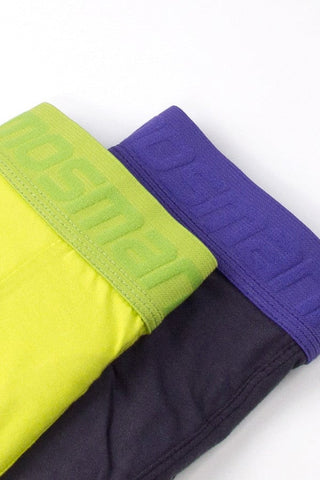 Mosmann Black & Lime 2-Pack Boxer Brief