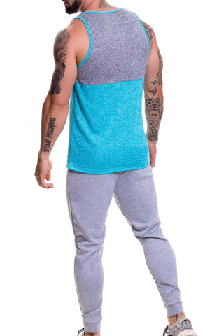 Jor Turquoise Play Tank Top