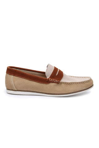 GBX Sand/Rust Ransomm Penny Loafer