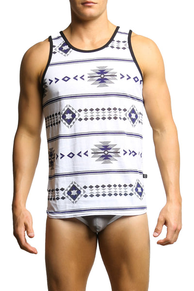 Timoteo New Mexico Venice Beach Tank Top - CheapUndies.com