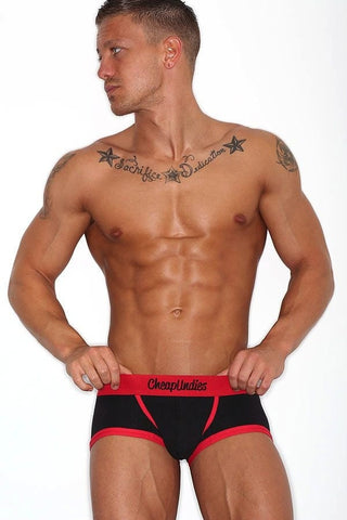 Cheapundies Black Bulge Boxer