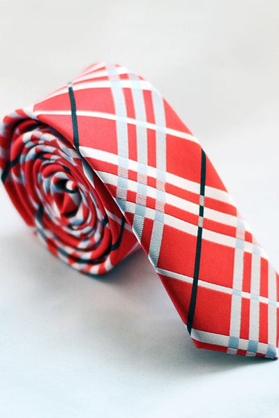 Skinny Tie Madness Holiday Road Tie